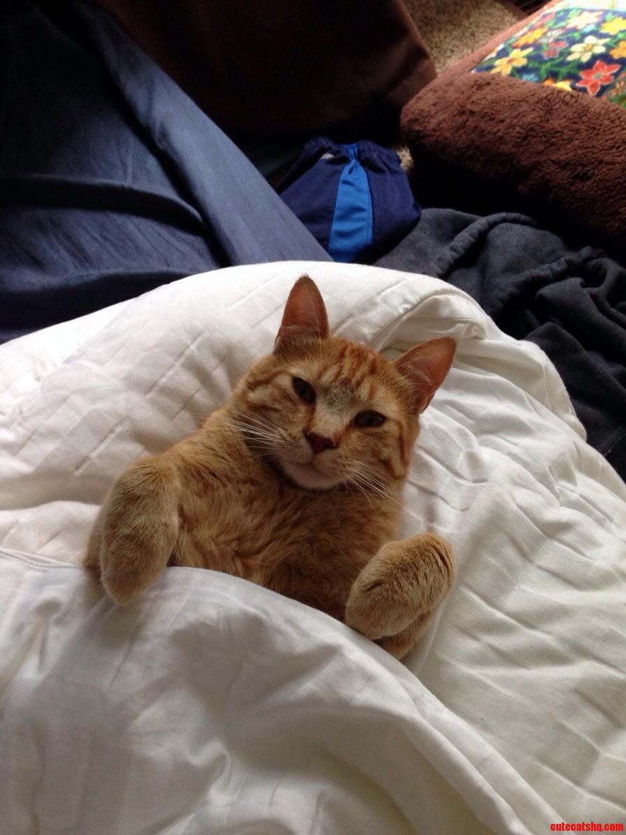 Otis Relaxing.